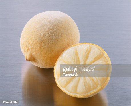 Lemon, Freezing, : Stock Photo