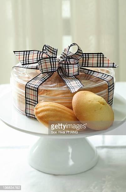 Lemon glazed madeleines
