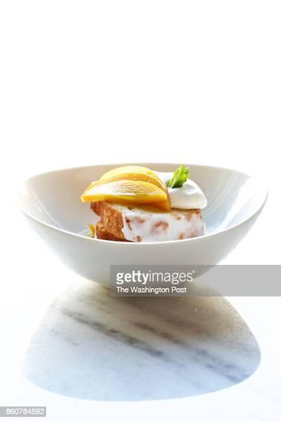 WASHINGTON DC Lemon Glazed Paradise Cake by Buttercream Bakeshop photographed at All Purpose in Washington DC