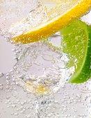 Lemon lime and ice