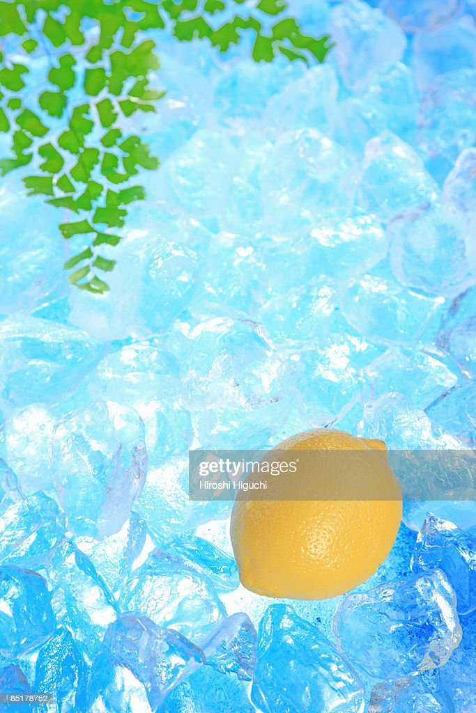 Lemon on ice
