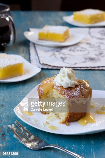 lemon pound cake with lemon bars