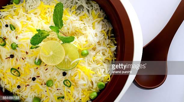 Lemon Rice - Indian food Item
