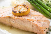 Lemon Sauteed Salmon