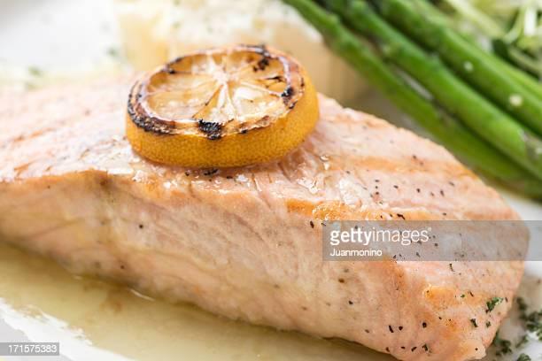 Lemon Sauteed Salmon