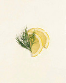 Lemon Slices with Dill