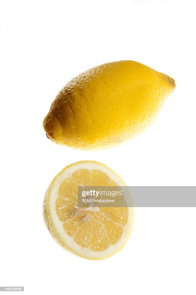 lemon, studio shot : Stock Photo