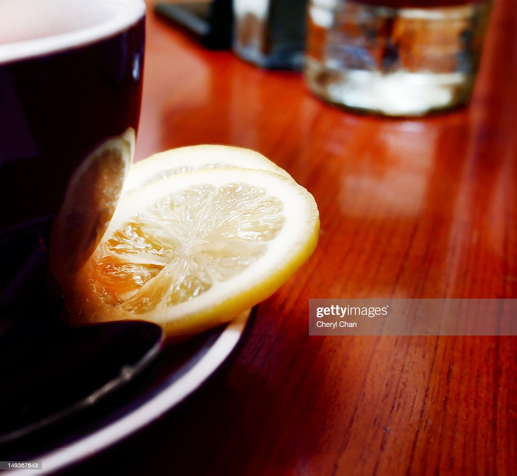 Lemon tea : Stock Photo