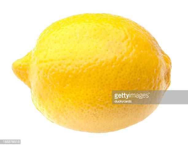 Lemon with Clipping Path