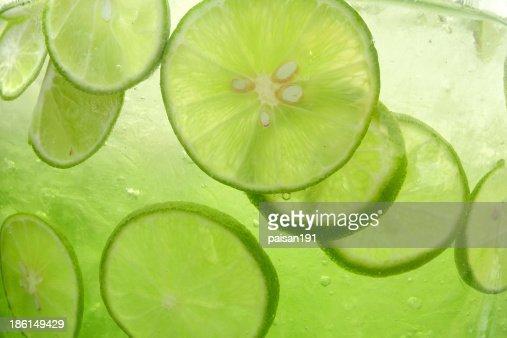 lemonade closeup : Stock Photo