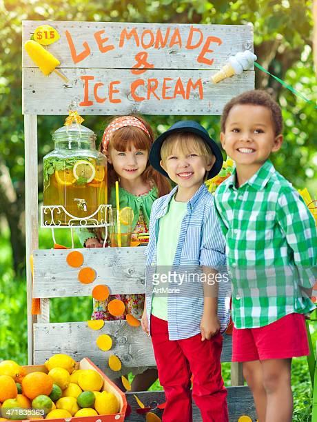 Buvette et les enfants