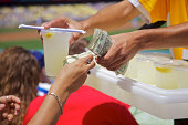 Lemonade Vendor at baseball game