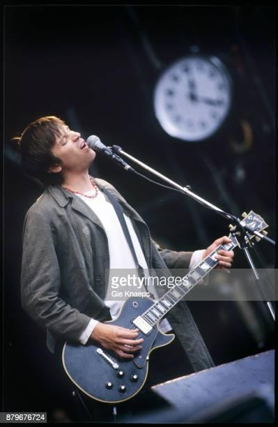 Lemonheads Evan Dando performing on stage Pukkelpop Festival Hasselt Belgium 27th August 1994