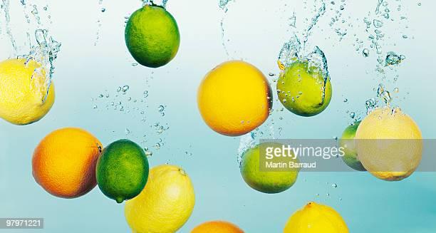 レモンとライムのしぶきの