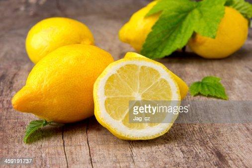 Lemons : Stock Photo