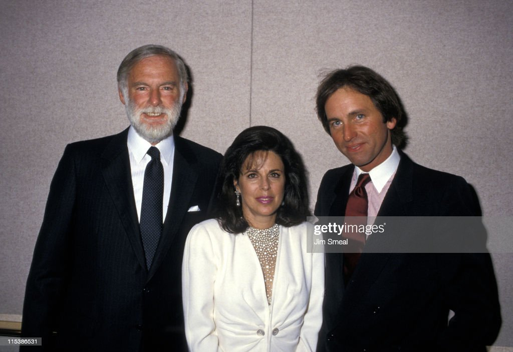 Len Goldberg and <a gi-track='captionPersonalityLinkClicked' href=/galleries/search?phrase=John+Ritter&family=editorial&specificpeople=680624 ng-click='$event.stopPropagation()'>John Ritter</a> during 1987 National Conference of Christians and Jews at The Beverly Hilton Hotel in Beverly Hills, CA, United States.