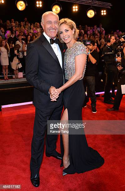 Len Goodman and Darcey Bussell attend the red carpet launch for Strictly Come Dancing 2014 at Elstree Studios on September 2 2014 in Borehamwood...
