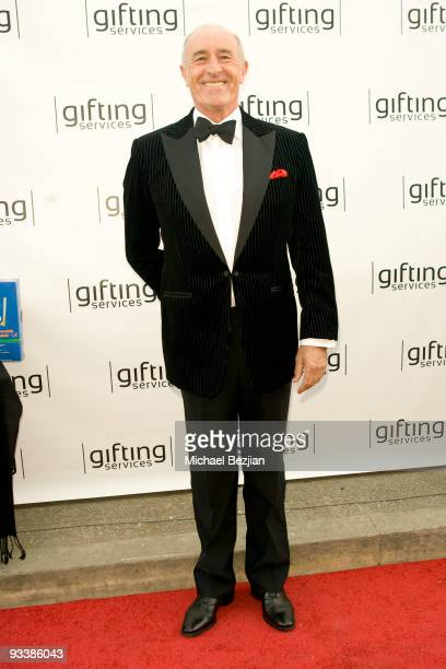 Len Goodman attends the Dancing With The Stars Season 9 Finale Honored By Gifting Services Day 2 on November 24 2009 in Los Angeles California