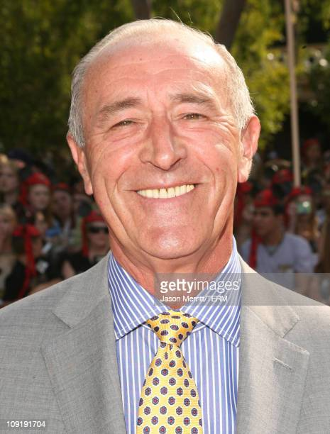 Len Goodman during 'Pirates of the Caribbean At World's End' World Premiere Arrivals at Disneyland in Anaheim California United States