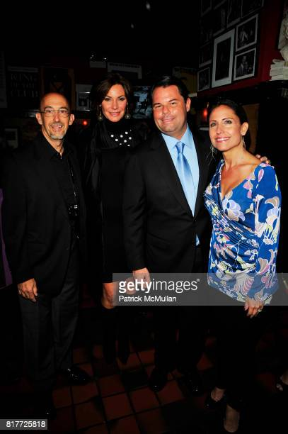 Len Prince Countess LuAnn de Lesseps Paul David Pope and Maria Pope Kessel attend THE DEEDS OF MY FATHERS by Paul David Pope New York book launch at...