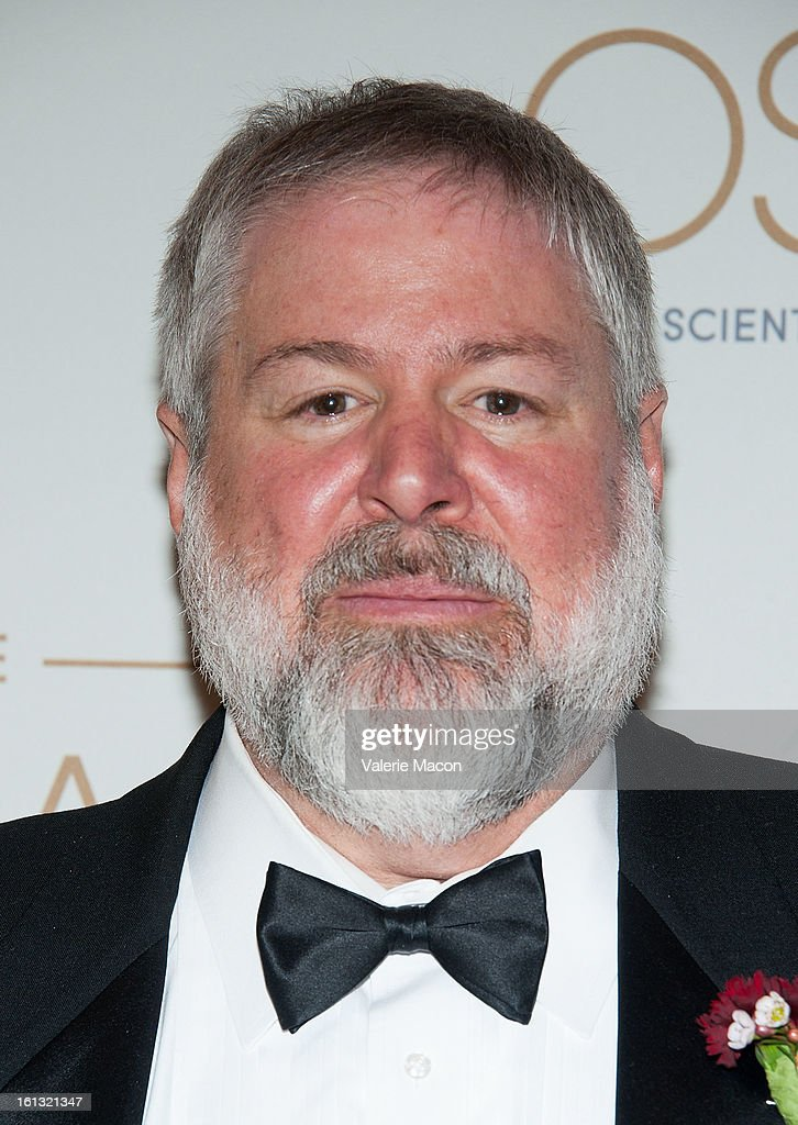 Len Zellan arrives at the Academy Of Motion Picture Arts And Sciences' Scientific & Technical Awards at Beverly Hills Hotel on February 9, 2013 in Beverly Hills, California.