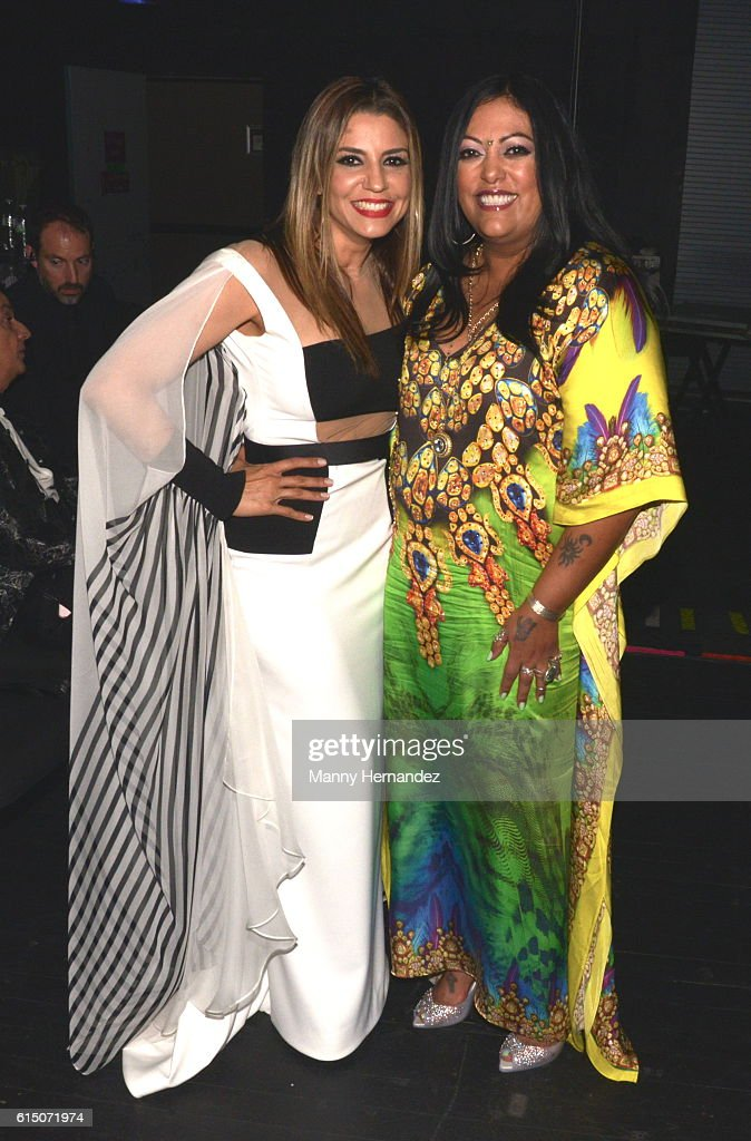 Lena Burke and La India at Latin Songwriters Hall Of Fame La Musa Awards, Miami Beach, FL on October 13, 2016