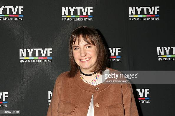 Lena Dunham attends 12th Annual New York Television Festival Creative Keynote A Conversation with 'Girls' at SVA Theater on October 27 2016 in New...