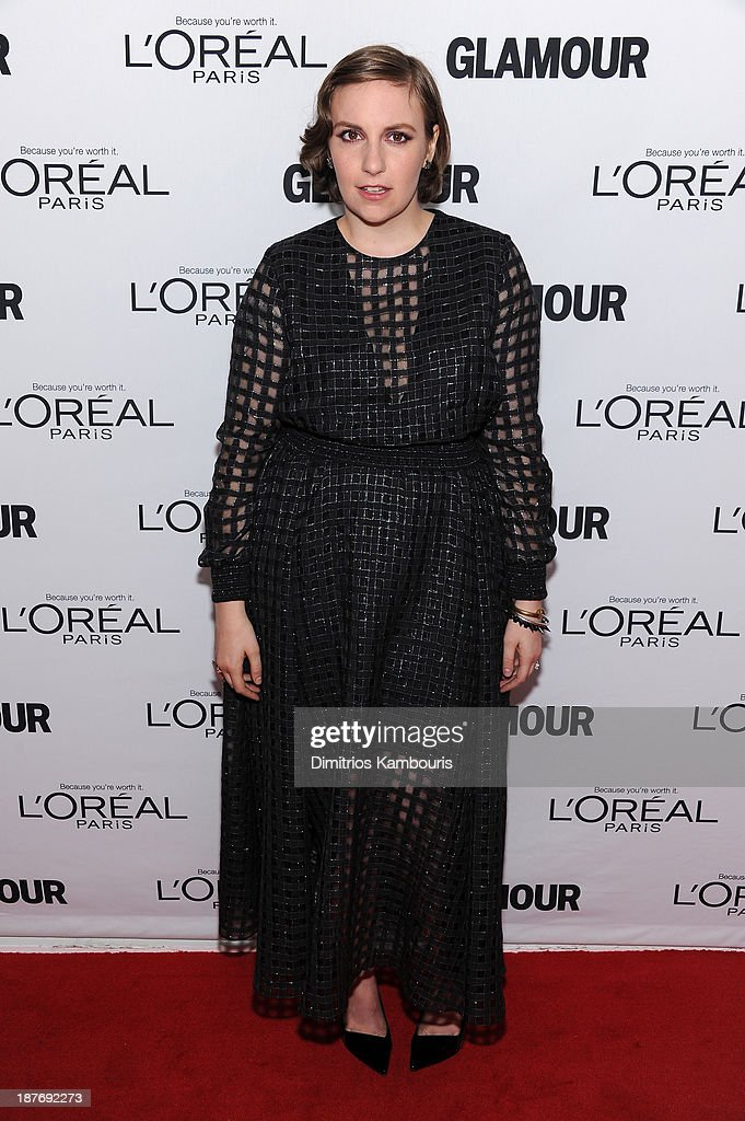 <a gi-track='captionPersonalityLinkClicked' href=/galleries/search?phrase=Lena+Dunham&family=editorial&specificpeople=5836535 ng-click='$event.stopPropagation()'>Lena Dunham</a> attends Glamour's 23rd annual Women of the Year awards on November 11, 2013 in New York City.