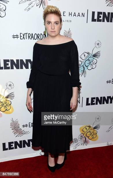Lena Dunham attends Lenny 2nd Anniversary Party at The Jane Hotel on September 15 2017 in New York City
