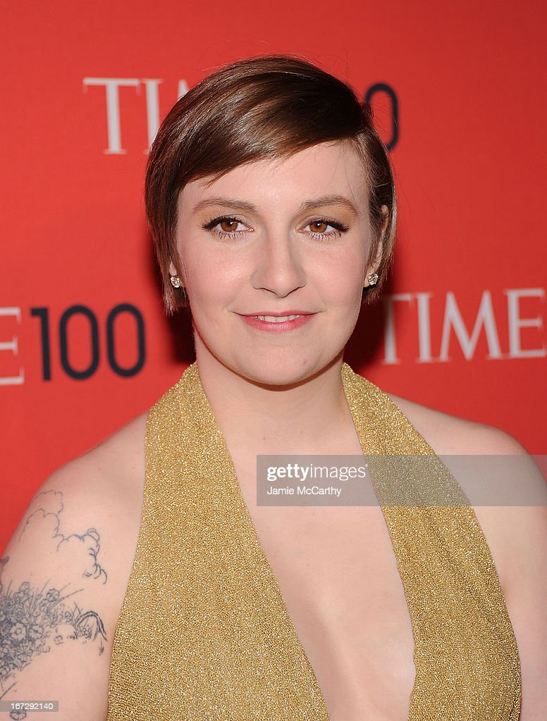 Lena Dunham attends the 2013 Time 100 Gala at Frederick P. Rose Hall, Jazz at Lincoln Center on April 23, 2013 in New York City.