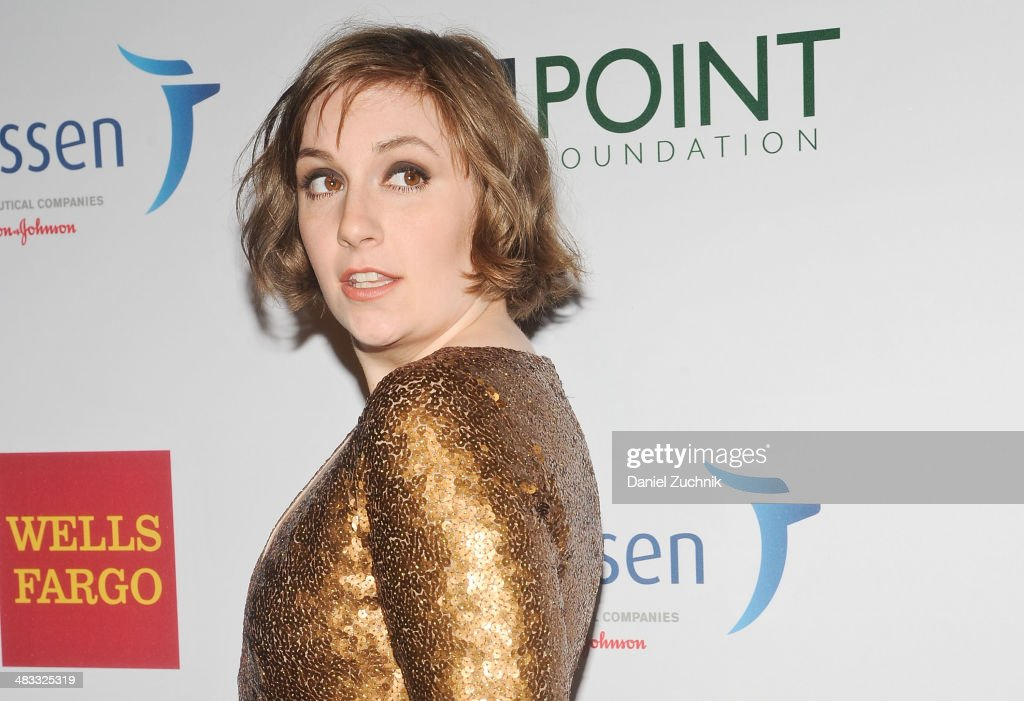 <a gi-track='captionPersonalityLinkClicked' href=/galleries/search?phrase=Lena+Dunham&family=editorial&specificpeople=5836535 ng-click='$event.stopPropagation()'>Lena Dunham</a> attends the 2014 Point Honors New York gala at New York Public Library on April 7, 2014 in New York City.