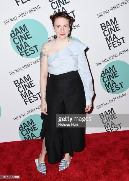 Lena Dunham attends the 'Landline' New York screening during the BAMcinemaFest 2017 at BAM Harvey Theater on June 17 2017 in New York City