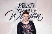 Lena Dunham attends Variety's Power of Women New York presented by Lifetime at Cipriani 42nd Street on April 24 2015 in New York City