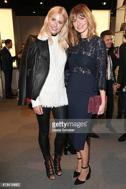 Lena Gercke and Eva Padberg during the society shopping event at Ingolstadt Village on October 26 2016 in Ingolstadt Germany
