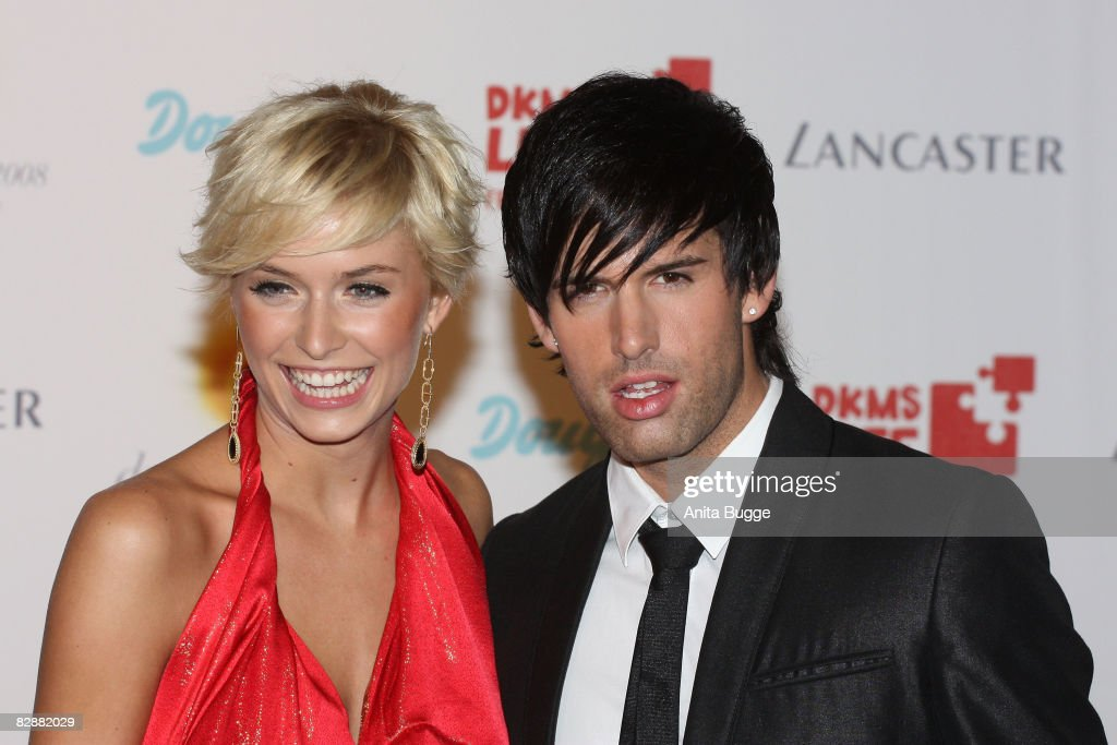 Lena Gehrke and Jay Khan attend the Dreamball2008 charity gala in the Martin-Gropius building on September 18, 2008 in Berlin, Germany.