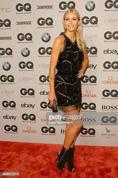 Lena Gercke arrives at the GQ Men of the Year Award 2014 at Komische Oper on November 6 2014 in Berlin Germany