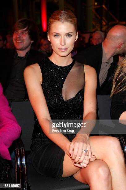 Lena Gercke attends the 15th Media Award By Kindernothilfe at Hauptstadtrepraesentanz Deutsche Telekom AG on November 15 2013 in Berlin Germany