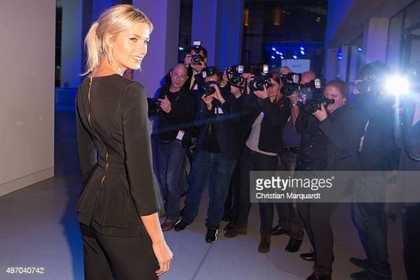 Lena Gercke attends the 17th Media Award By Kindernothilfe on November 13 2015 in Berlin Germany