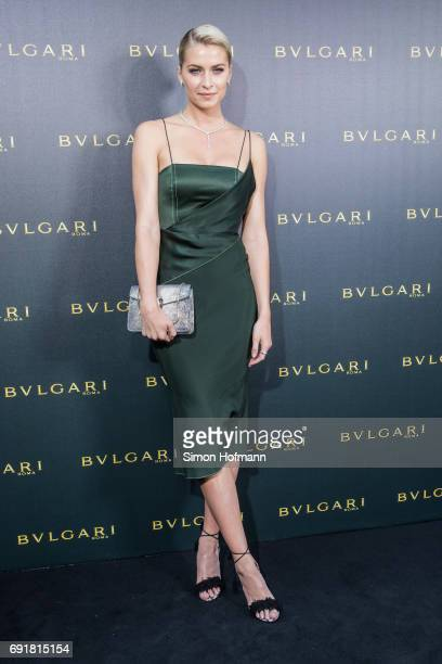 Lena Gercke attends the Bulgari Boutique Opening at Bulgari Boutique on June 1 2017 in Frankfurt am Main Germany