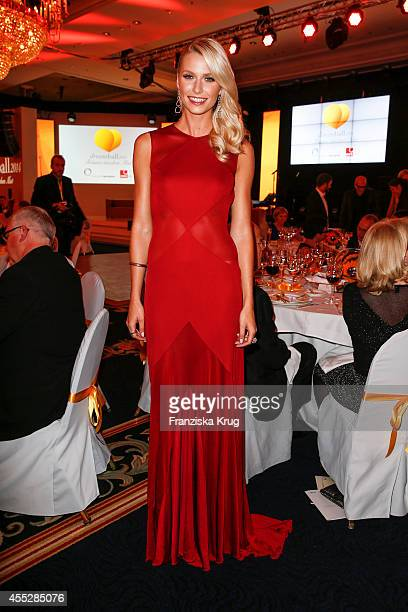 Lena Gercke attends the Dreamball 2014 at the Ritz Carlton on September 11 2014 in Berlin Germany