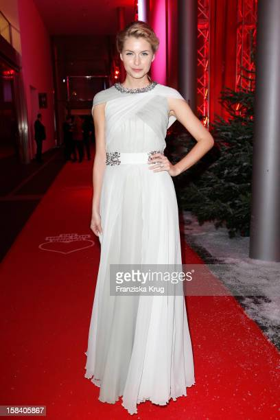 Lena Gercke attends the 'Ein Herz Fuer Kinder Gala 2012' on December 15 2012 in Berlin Germany