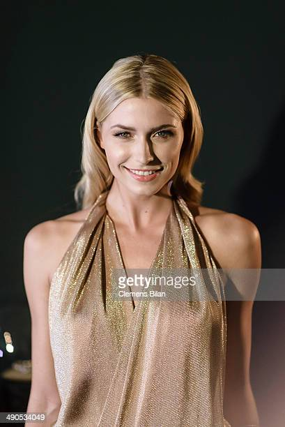 Lena Gercke attends the Grazia Best Dressed Award at Soho House on May 14 2014 in Berlin Germany