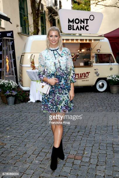 Lena Gercke attends the Montblanc spring party on May 3 2017 in Munich Germany