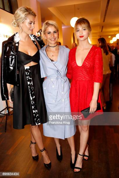 Lena Gercke Caro Daur and LisaMarie Koroll attend the Montblanc De La Culture Arts Patronage Award 2017 at Humboldt Carre on June 13 2017 in Berlin...