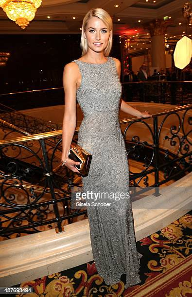 Lena Gercke during the 10th anniversary of 'Dreamball' at Ritz Carlton on September 10 2015 in Berlin Germany