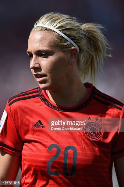 Lena Goessling of Germany looks on during the FIFA Women's World Cup Canada 2015 Group B match between Germany and Norway at Lansdowne Stadium on...