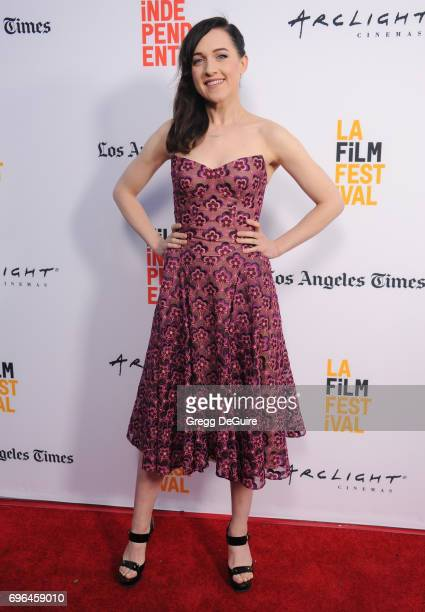 Lena Hall arrives at the 2017 Los Angeles Film Festival Premiere Of 'Becks' at Arclight Cinemas Culver City on June 15 2017 in Culver City California