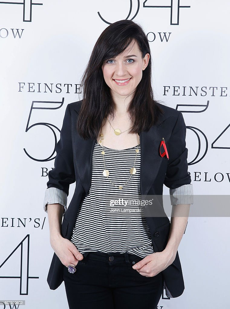 Lena Hall attends Broadway Acts For Women:a star-studded kight of karaoke and comedy at 54 Below on May 1, 2016 in New York City.