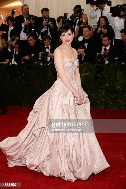 Lena Hall attends the 'Charles James Beyond Fashion' Costume Institute Gala at the Metropolitan Museum of Art on May 5 2014 in New York City
