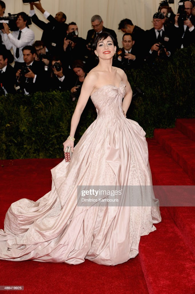 Lena Hall attends the 'Charles James: Beyond Fashion' Costume Institute Gala at the Metropolitan Museum of Art on May 5, 2014 in New York City.